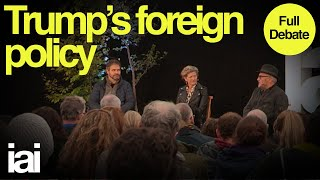Trumps Foreign Policy  Full Debate  George Galloway Mark Leonard