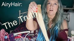 Airy Hair Extensions  HONEST AF Review