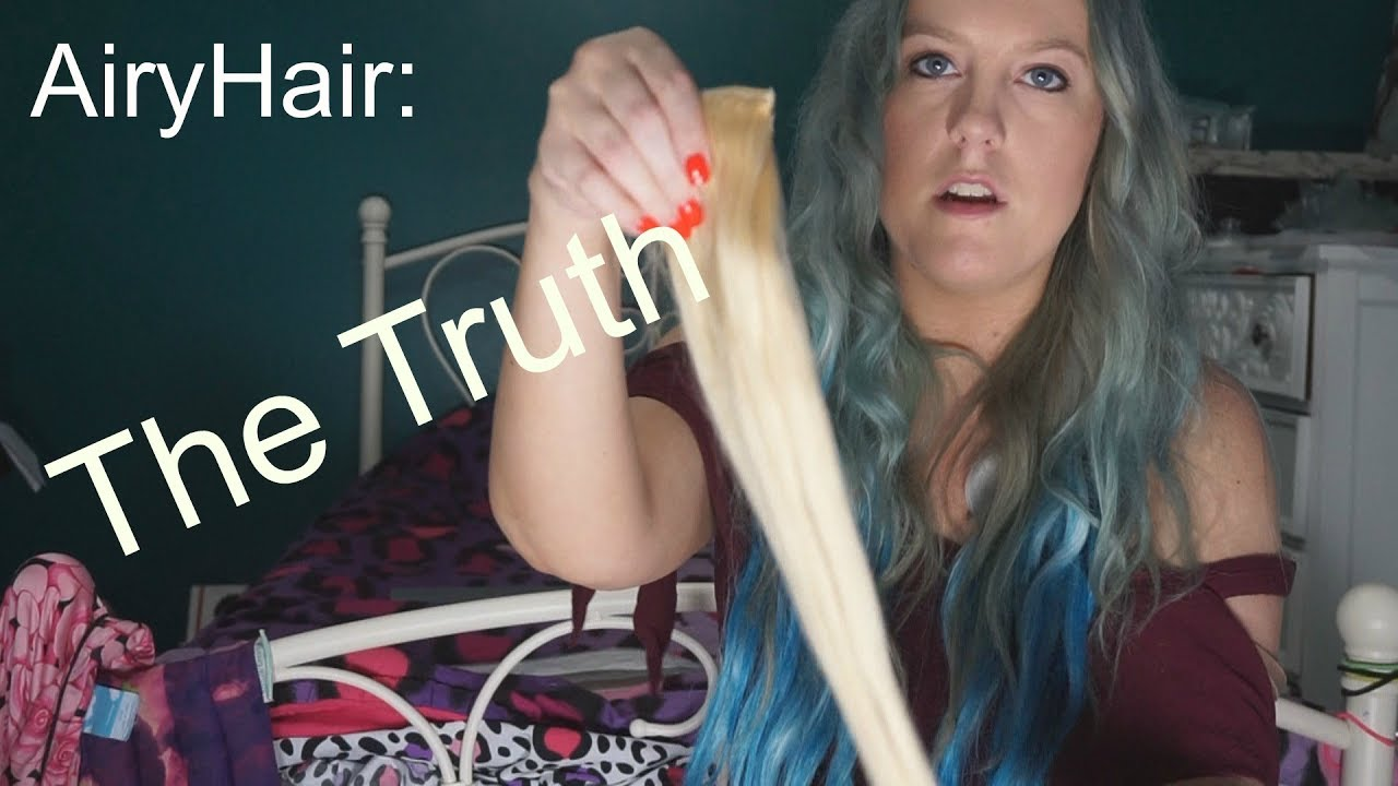 Airy Hair Extensions Honest Af Review Youtube