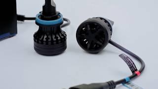 Светодиодные автолампы цоколь H11 CSP 5000Lm (8122T2H11) обзор