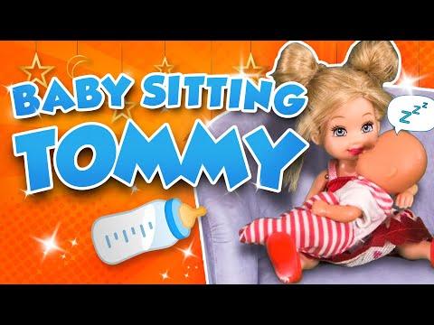 Barbie - Babysitting Tommy | Ep.143