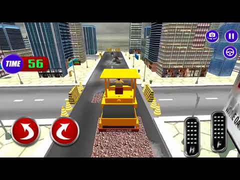 how to road construction for children games -new