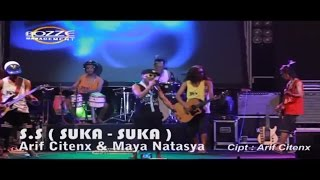 Gambar cover ARIF CITENX & MAYA NATASYA - S.S SUKA-SUKA [ OFFICIAL KARAOKE MUSIC VIDEO LIVE BALI ]
