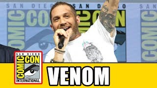 VENOM Comic Con Panel - Tom Hardy