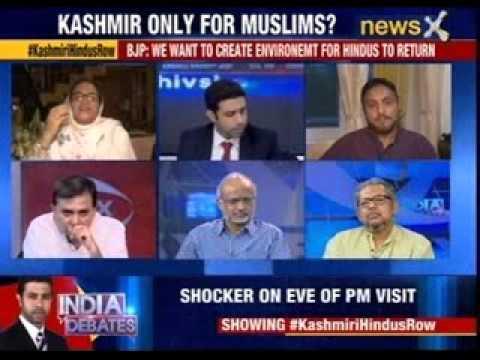 India Debates: Kashmir only for Muslim?