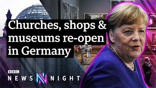 Coronavirus: Germany eases lockdown, but can they avoid a second peak? – BBC Newsnight
