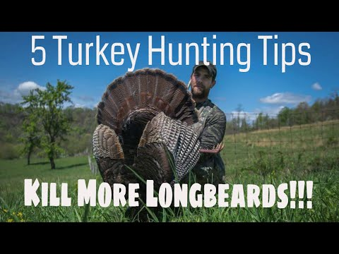 How To Hunt Spring Turkey  - My Top 5 Turkey Hunting Tips