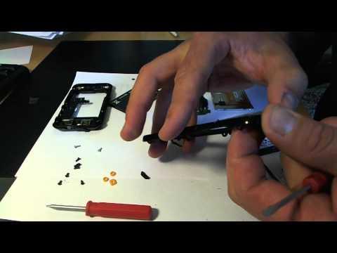 Motorola DEFY MB525 replace broken glass part 1