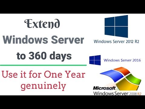 Activate Windows Server for one year genuinely (after 180