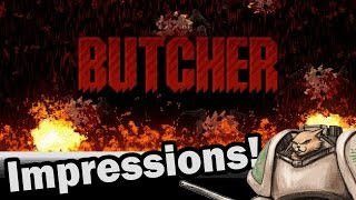 Butcher (Transhuman Design)  PC - Weekly Indie Newcomer