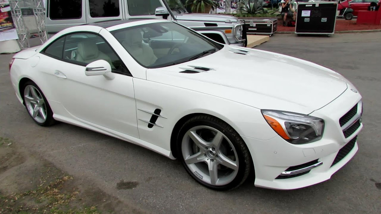 2014 mercedes benz sl550 exterior walkaround circuit. Black Bedroom Furniture Sets. Home Design Ideas