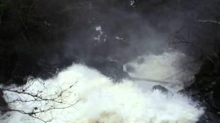 River side walks Scotland. The Birks of Aberfeldy Perthshire