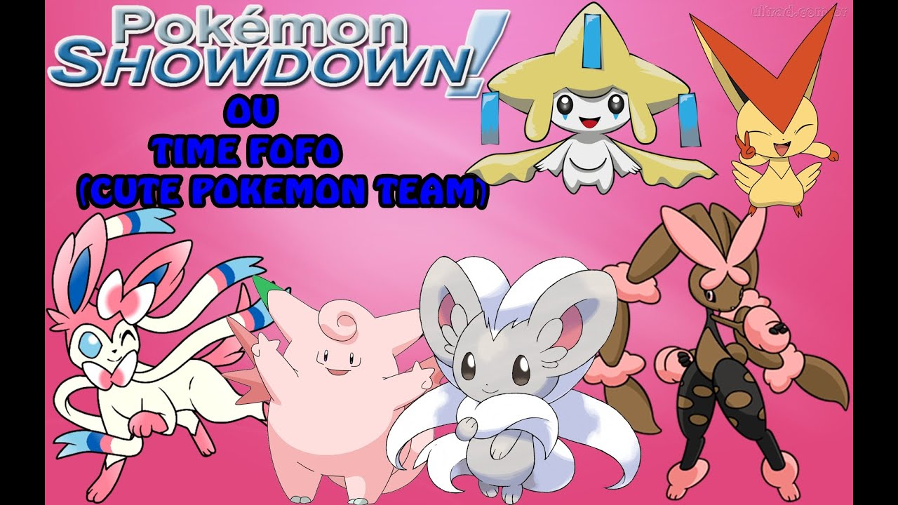 Pokemon Showdown Time De Pokemons Fofos Cute Team Pokemon 6