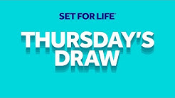 The National Lottery 'Set For Life' draw results from Thursday 4th June 2020