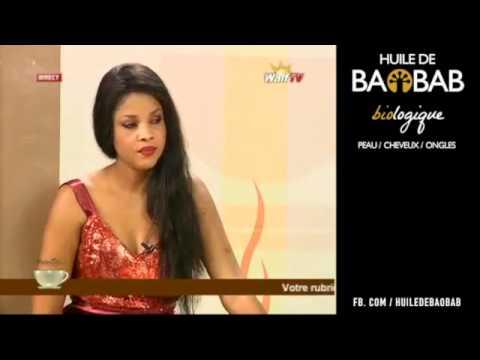 L'huile de Baobab. Miracle cosmétique sur WALF TV ! - en wolof