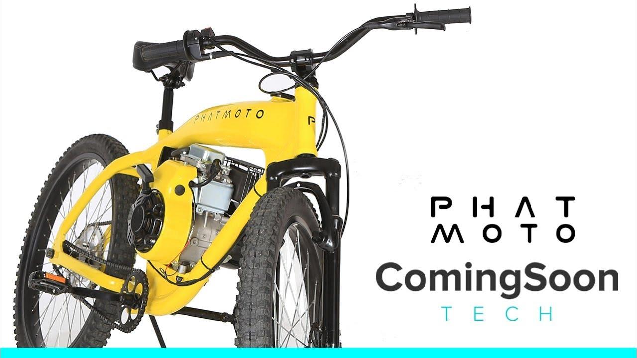 Phatmoto: All-In-One Gas Engine Bike   Indiegogo