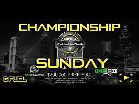 CHAMPIONSHIP SUNDAY-CWL ATLANTA