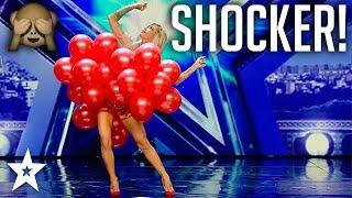 Balloon Dancer's Bra Floats Away on Spain's Got Talent! | Got Talent Global