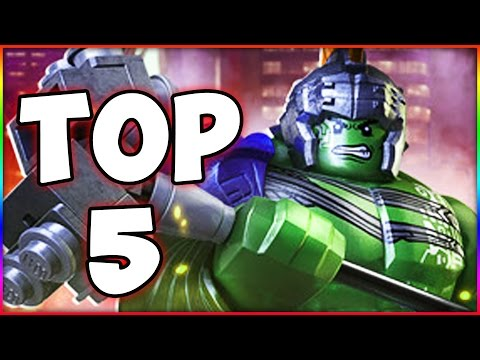 LEGO Marvel Superheroes 2 - Top 5 New Must Have Features!