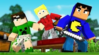 Minecraft: DEFENDA A CAMA! (Bed Wars)