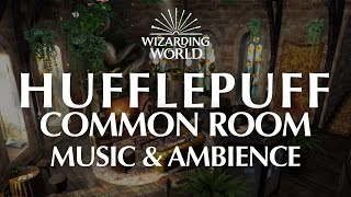 Hufflepuff Common Room | Harry Potter Music & Ambience - 4 Magical Scenes for Relaxation and Focus.