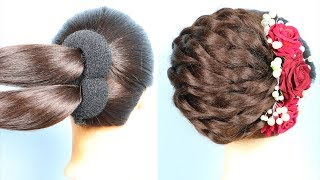 Latest hairstyle For Wedding Step By Step || new hairstyle 2020 || trendy hairstyles 2020