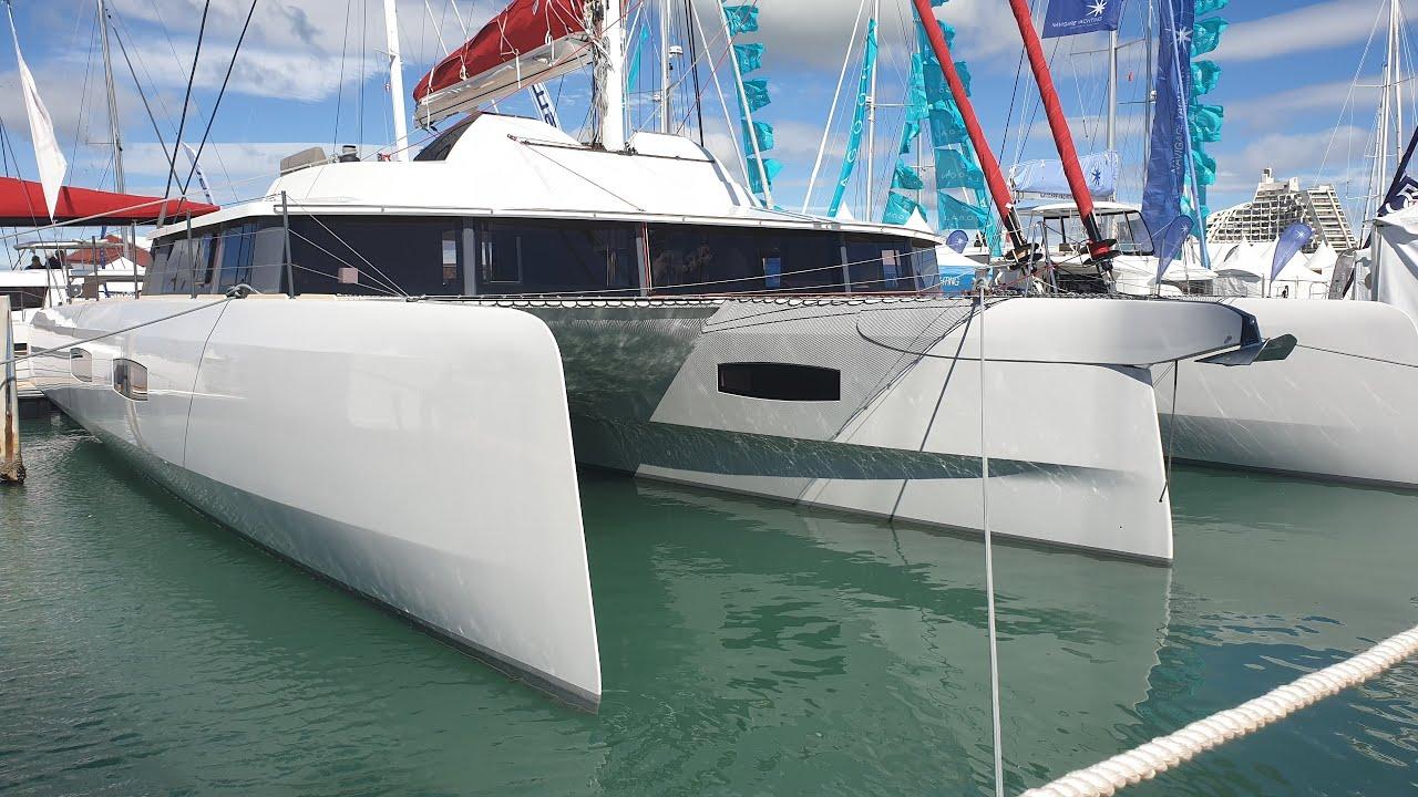 Neel 65 Trimaran 2019 - Neel's Biggest Trimaran Ever Build! (incl  sailing  footage)