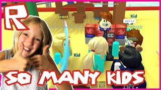Life in Paradise / My Dad Has so Many Kids / Roblox