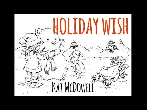 Holiday Wish feat. Cameron Paul - Kat McDowell Lyric Video