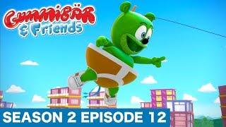 """Gummy Bear Show S2 E12 """"BANZAI AS A KITE"""" Gummibär And Friends"""