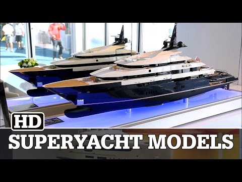 Incredible Superyacht Models at FLIBS