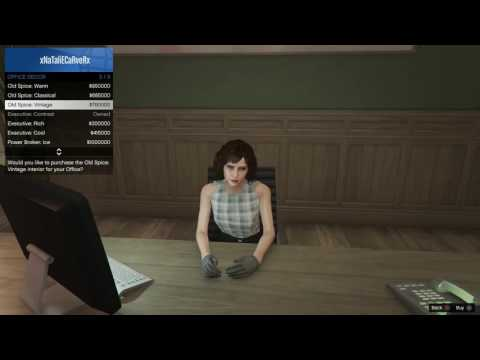 GTA V Online - Female Executive Assistant Outfit Showcase - Finance and Felony