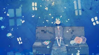 【初音ミクsoft】 海月 【オリジナル】【中文字幕】