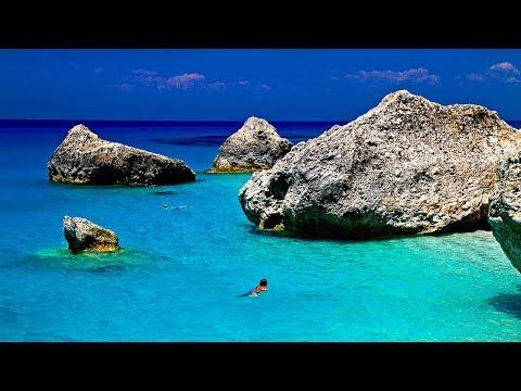 Best Beaches in Greece - Crete, Corfu, Lefkada, Pelion, Zakynthos HD