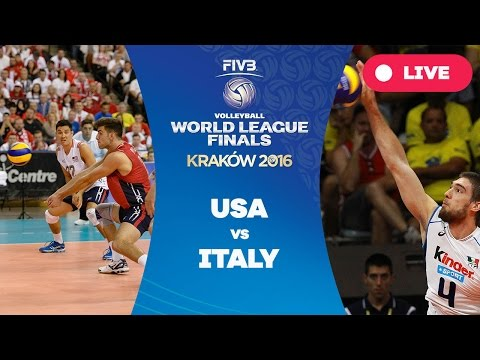 United States v Italy - Group 1: 2016 FIVB Volleyball World League