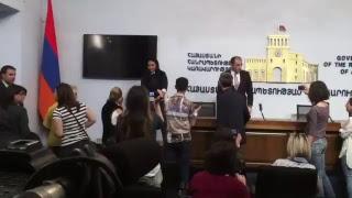 gov. Կառավարության նիստից հետո
