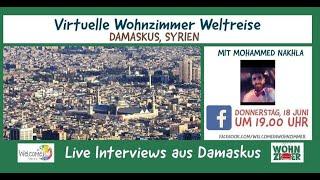 Virtuelle Wohnzimmer Weltreise: Damaskus, Syrien