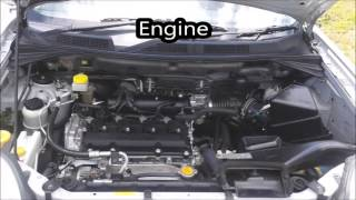 2007 Nissan X-Trail start up and in-depth tour