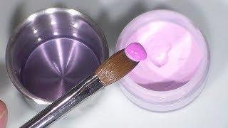 clase # 1 uñas acrilicas principiantes / manejo de acrilico y pincel