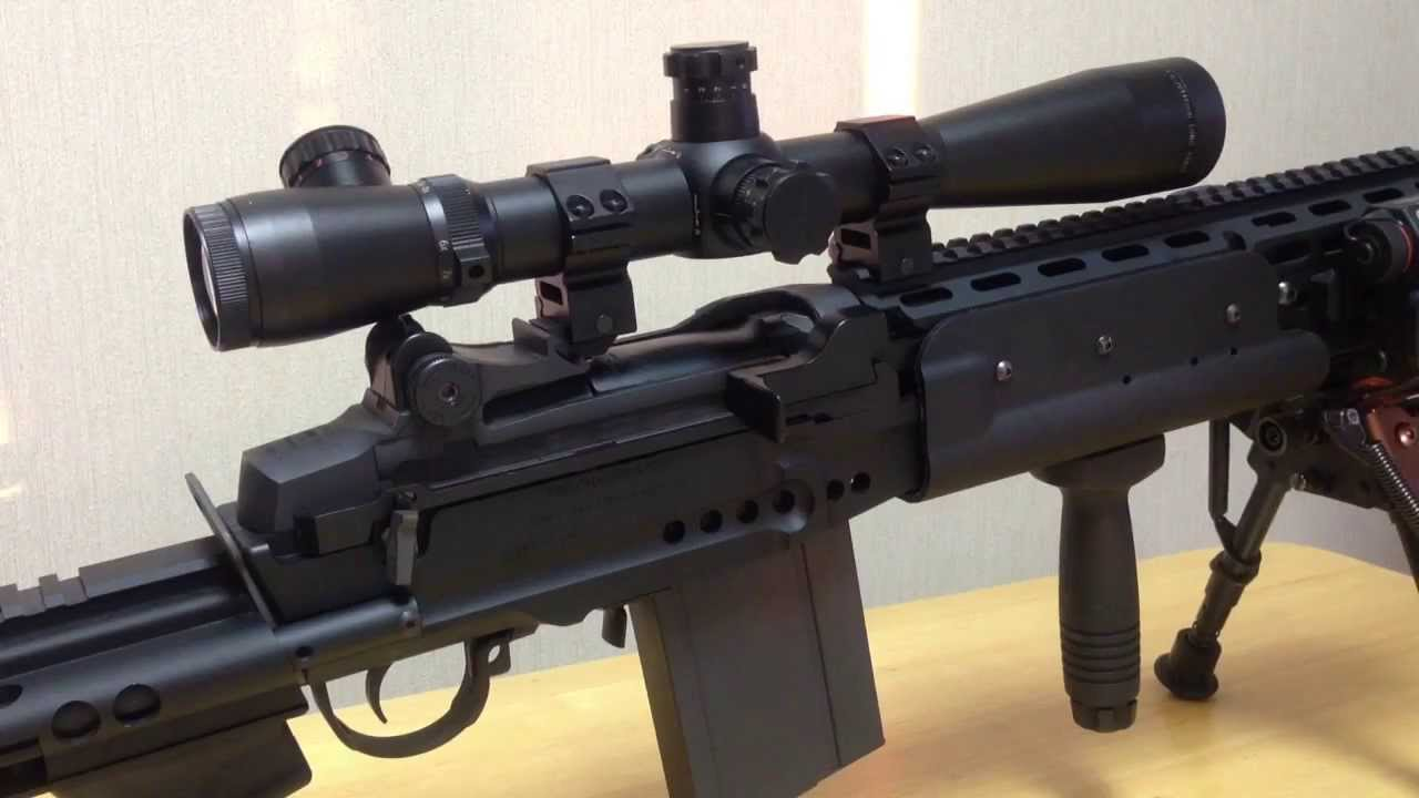 電動ガン M39 EMR 改造ブローバック セミ/フル切替(新ver) - YouTube M14 Ebr Rifle
