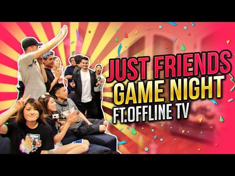 GAME NIGHT WITH OFFLINETV   IRL ROCKET LEAGUE   DATING ADVICE