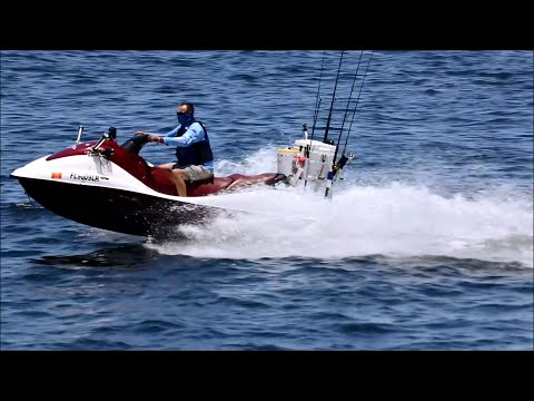 Offshore Fishing Equipped Jet Ski