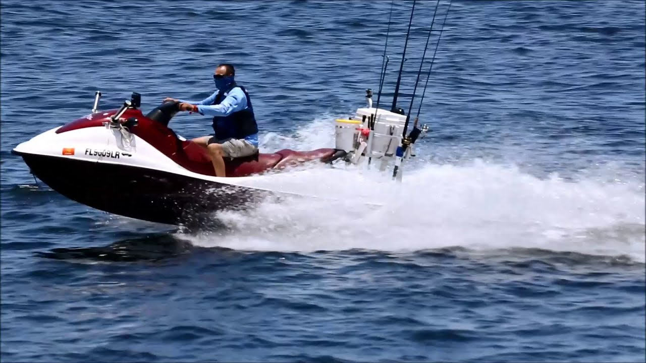 Offshore fishing equipped jet ski youtube for Best jet ski for fishing
