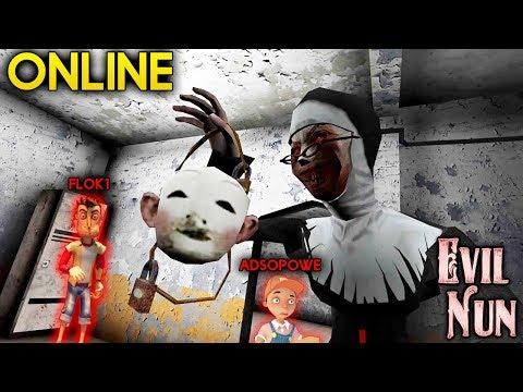 Прохождение Монахини Онлайн! Монахиня по сети! - Evil Nun Online