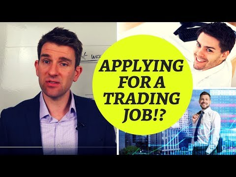 How To Get A Job Inside A Proprietary Trading Firm! ✨