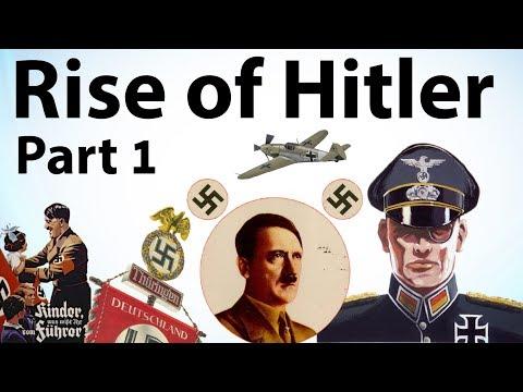 Rise of Hitler Part 1 - Biography of Adolf Hitler, Mein Kampf - How Hitler became ruler of Germany