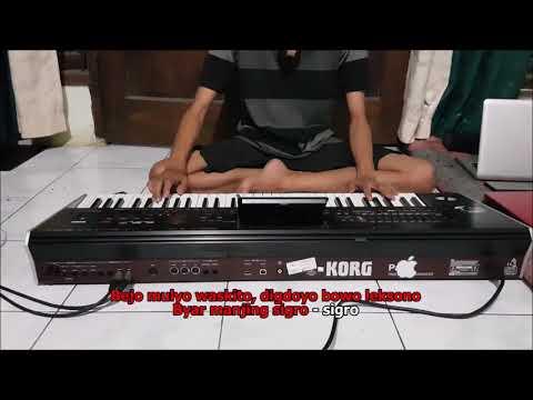 Cover Kidung Wahyu Kolosebo Karaoke Dangdut Koplo Instrument Keyboard No Vokal