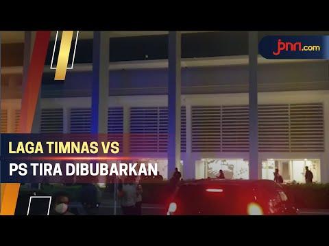 Laga Timnas Indonesia U-22 vs PS Tira Persikabo Dibubarkan