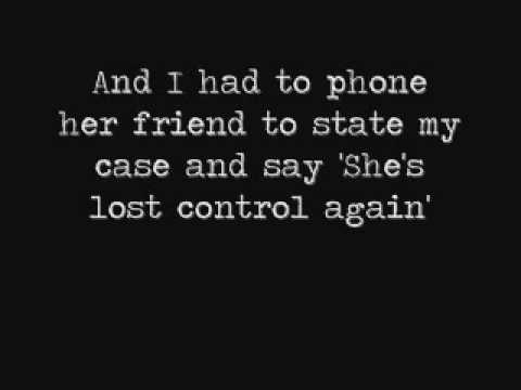 Joy Division - She's Lost Control (lyrics)