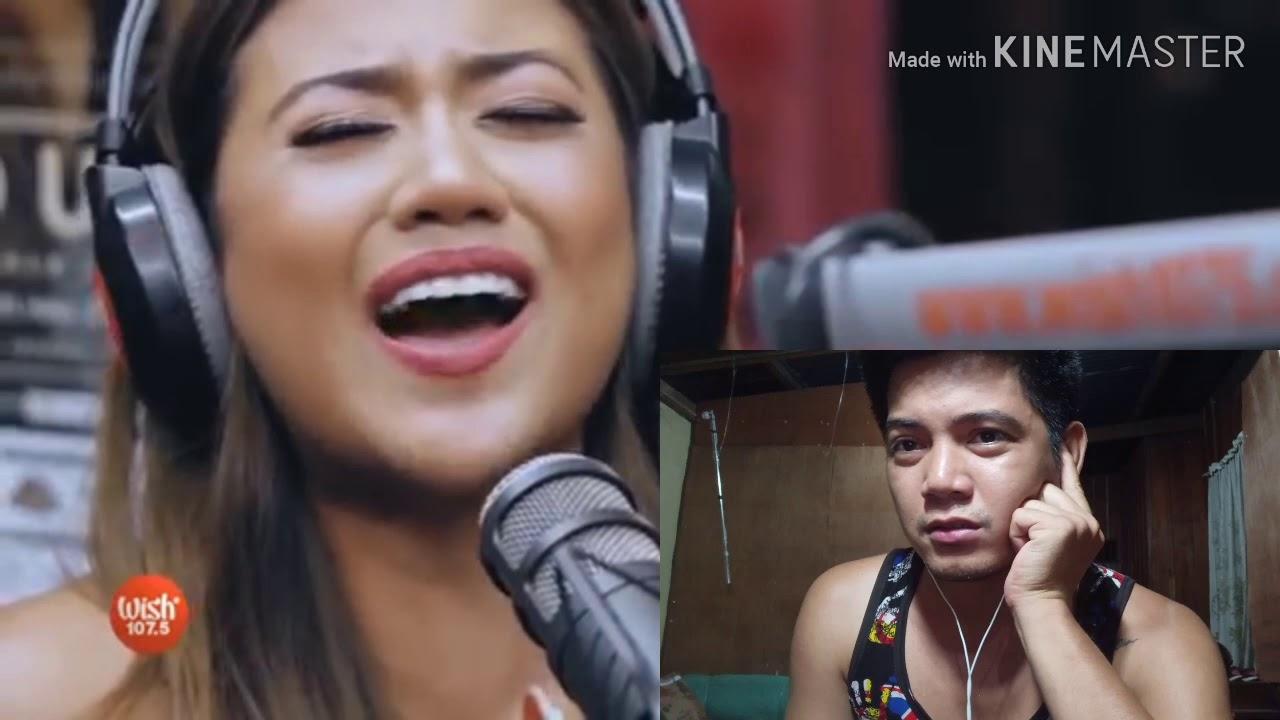 Morissette Amon reacts to her Naririnig mo ba ako - YouTube
